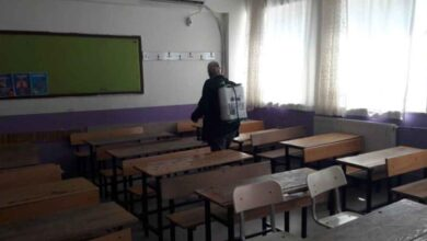 Photo of Viranşehir'de LGS öncesi okullar dezenfekte edildi
