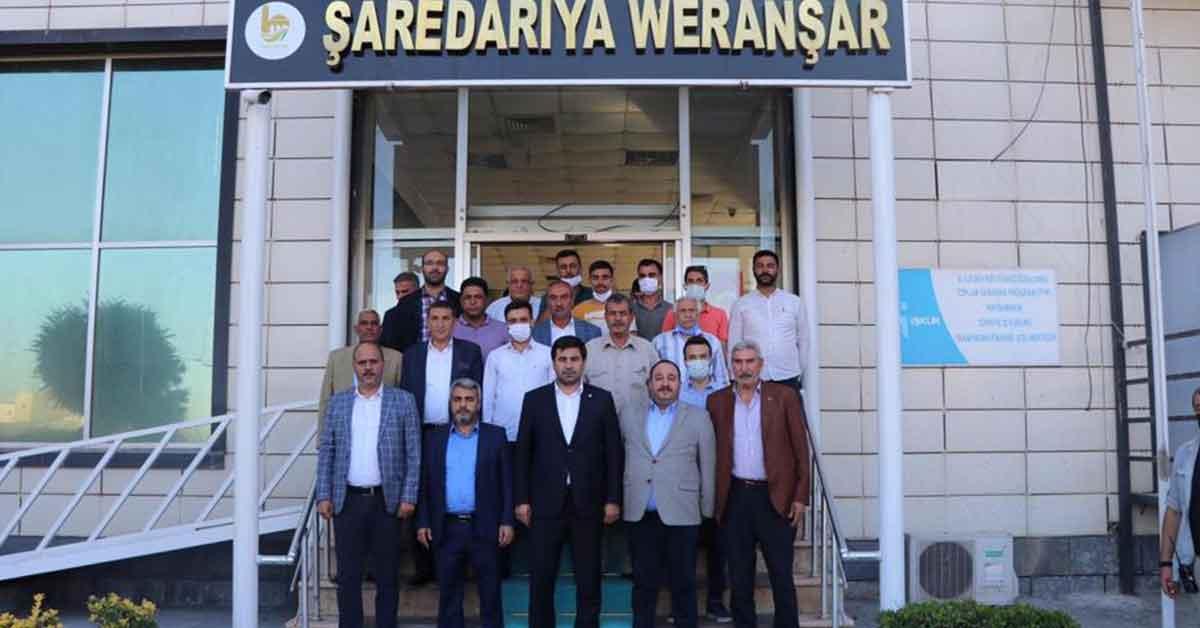 Yıldız, Viranşehir'de bir dizi ziyaretlerde bulundu