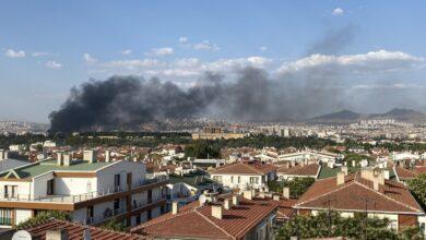 Photo of Son Dakika! Anıtkabir Yakınlarında Yangın