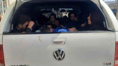 Photo of Şanlıurfa'da 17 düzensiz göçmen yakalandı
