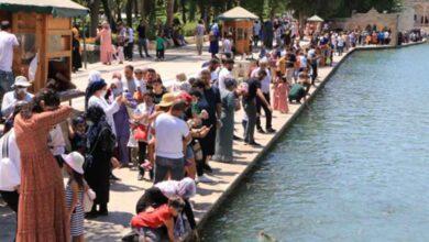 Photo of Balıklıgöl, Bayramda Ziyaretçi Akınına Uğradı