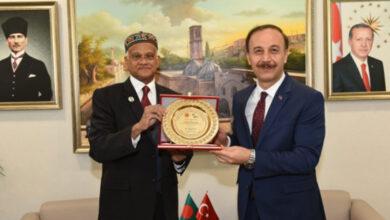 Photo of Bangladeş Ankara Büyükelçisi Şanlıurfa'da