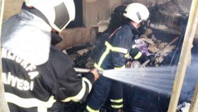 Photo of Eyyübiye'de ev yangını korkuttu