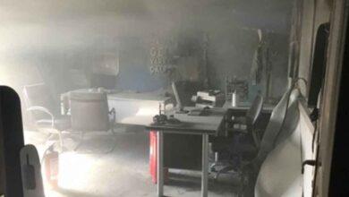 Photo of Şanlıurfa'da İş Yerinde Yangın
