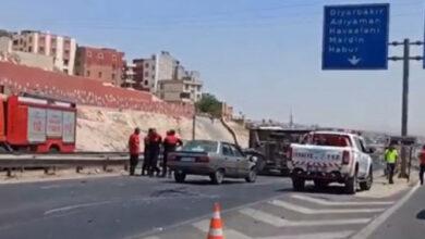 Photo of Urfa'da Kamyonet ile Otomobil Çarpıştı
