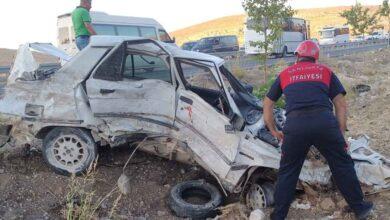 Photo of Şanlıurfa'da feci kaza! 2 Yaralı
