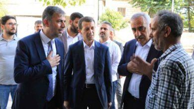 Photo of Kırıkçı, Hilvan'da İstişarelerde Bulundu