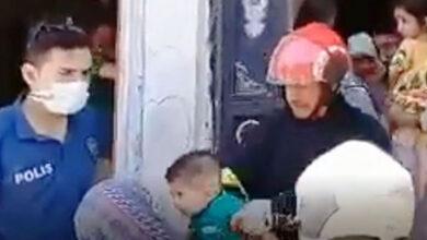 Photo of Urfa'da Yangında Mahsur Kalan Çocuklar Kurtarıldı
