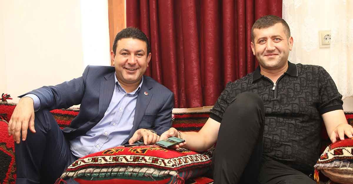 Ersoy'dan başkan Özyavuz'a ziyaret
