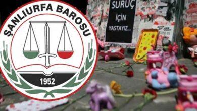 Photo of Urfa Barosu Suruç katliamını Unutmadı