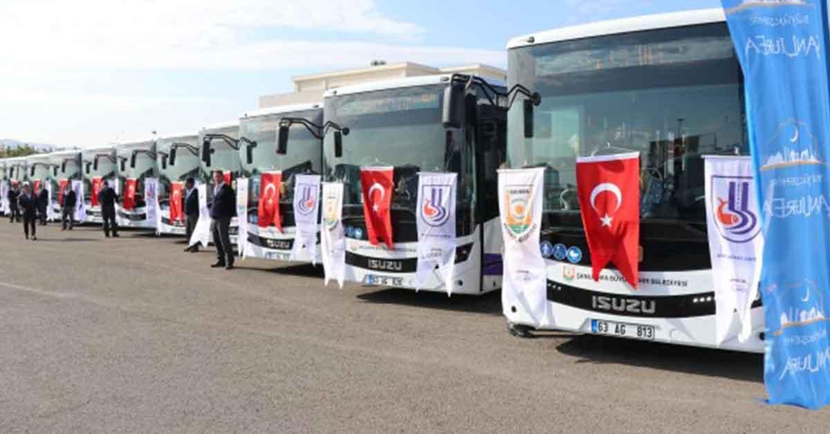 Urfa'da Toplu taşıma bayram süresince ücretsiz olacak