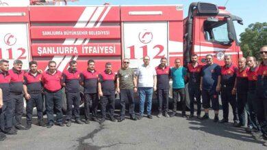 Photo of Şanlıurfa İtfaiye Ekipleri Manavgat Yolcusu