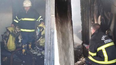 Photo of Şanlıurfa'da mesken yangını