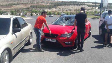 Photo of Urfa'da otomobil ile motosiklet çarpıştı: 1 yaralı