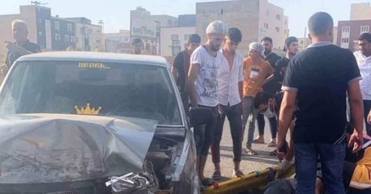 Urfa Servis ile hafif ticari araç çarpıştı: 1 yaralı