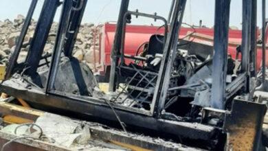 Photo of Viranşehir'de İş Makinesi Yangını