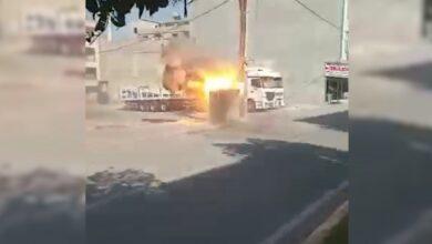Photo of Şanlıurfa'da aşırı yüklemeden dolayı trafo patladı