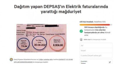 Photo of DEPSAŞ'IN FATURA ZULMÜNE KARŞI İMZA KAMPANYASI