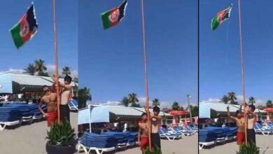 Photo of Afganlılar, Türkiye'de Bayraklarını Göklere Çekti
