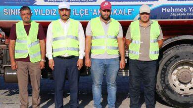 Photo of Akçakale Belediyesi'nden manavgat'a iftaiye desteği