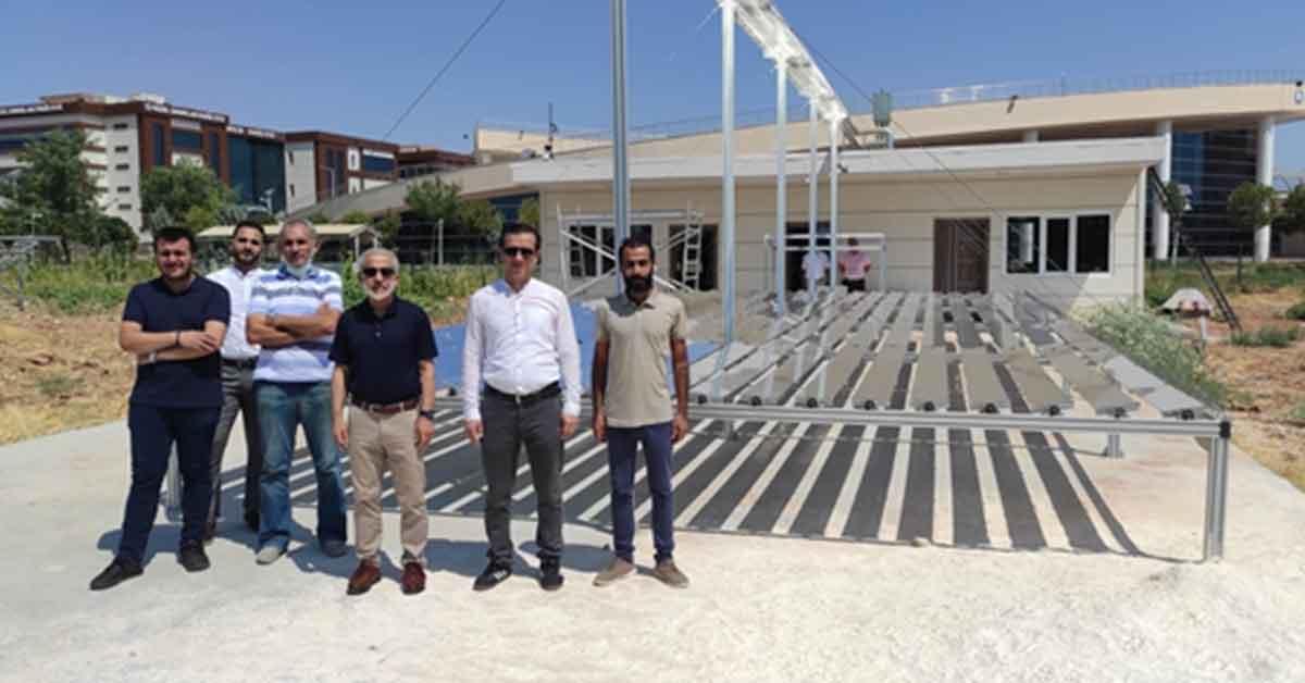 HRÜ'nde Yoğunlaştırılmış Güneş Kolektörü Geliştirildi