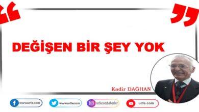 Photo of DEĞİŞEN BİR ŞEY YOK