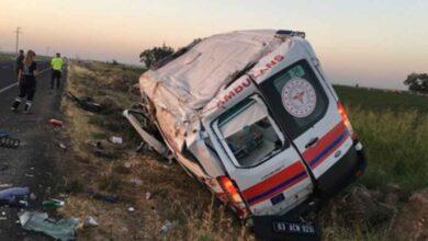 Photo of Urfa'da Ambulans Kaza Yaptı! 1 Bebek Öldü 3 Yaralı