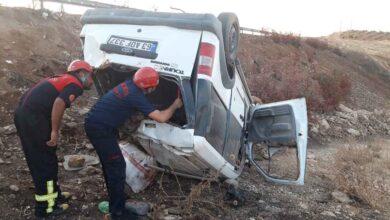 Photo of Şanlıurfa'da Takla Atan Araçtaki 3 Kişi Yaralandı