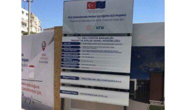 Photo of Urfa'ya 6 Adet Yatılı Mülteci Okulu Yapılıyor