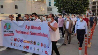 Photo of STK'lar 'AŞI' için yürüyüş yaptı
