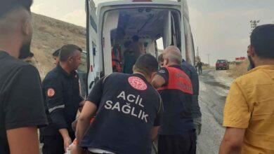 Photo of Şanlıurfa'da trafik kazası: 1 yaralı
