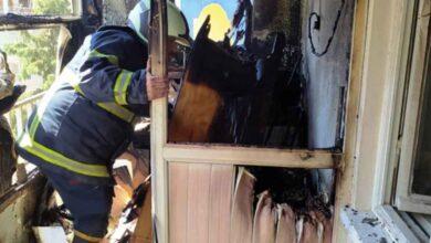 Photo of Haliliye'deki ev yangınını itfaiye söndürdü