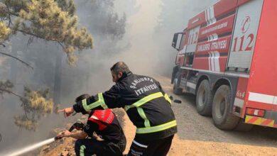 Photo of Şanlıurfa itfaiyesi destek için bu kez Manavgat'ta