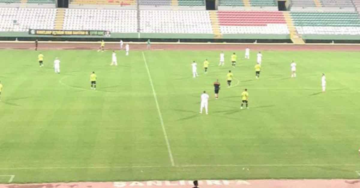 Şanlıurfaspor, son hazırlık maçını kazandı
