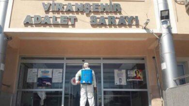 Photo of Viranşehir'de Dezenfekte Çalışmaları Devam Ediyor