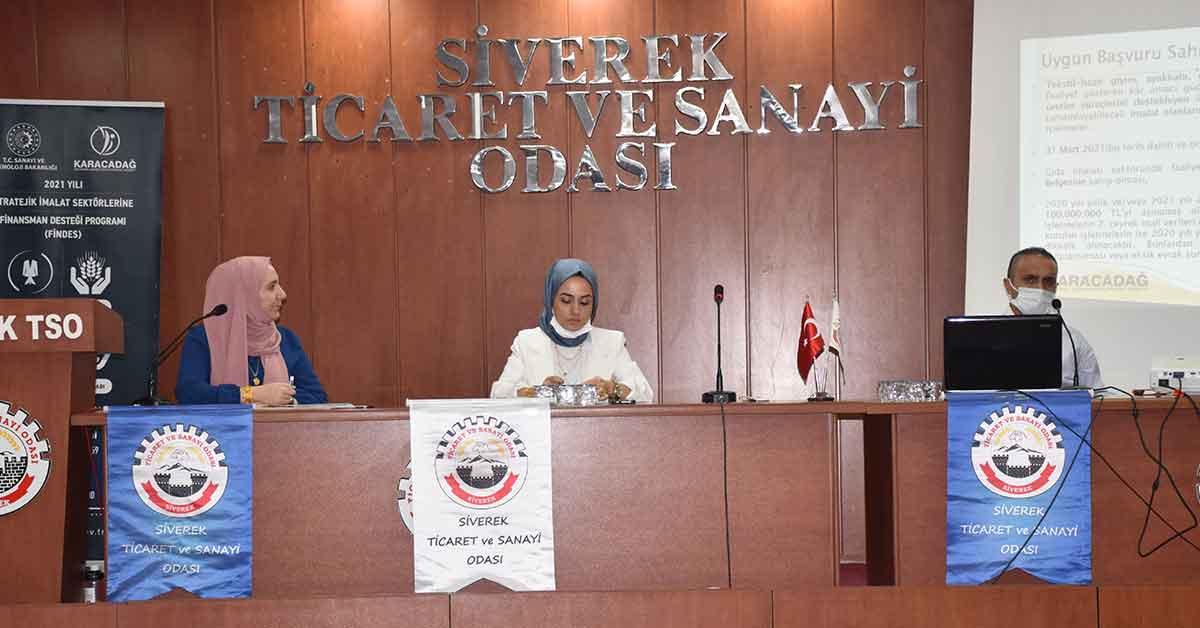 Siverek TSO, finansman desteği programını açıkladı