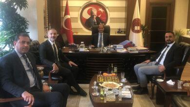 Photo of Urfa Baro Başkanı'ndan, HSK Başkanvekiline Ziyaret