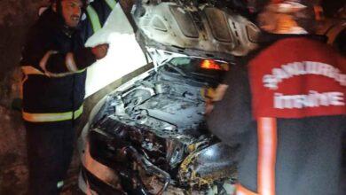Photo of Urfa'da kundaklama şoku! Bir gecede 2 araç