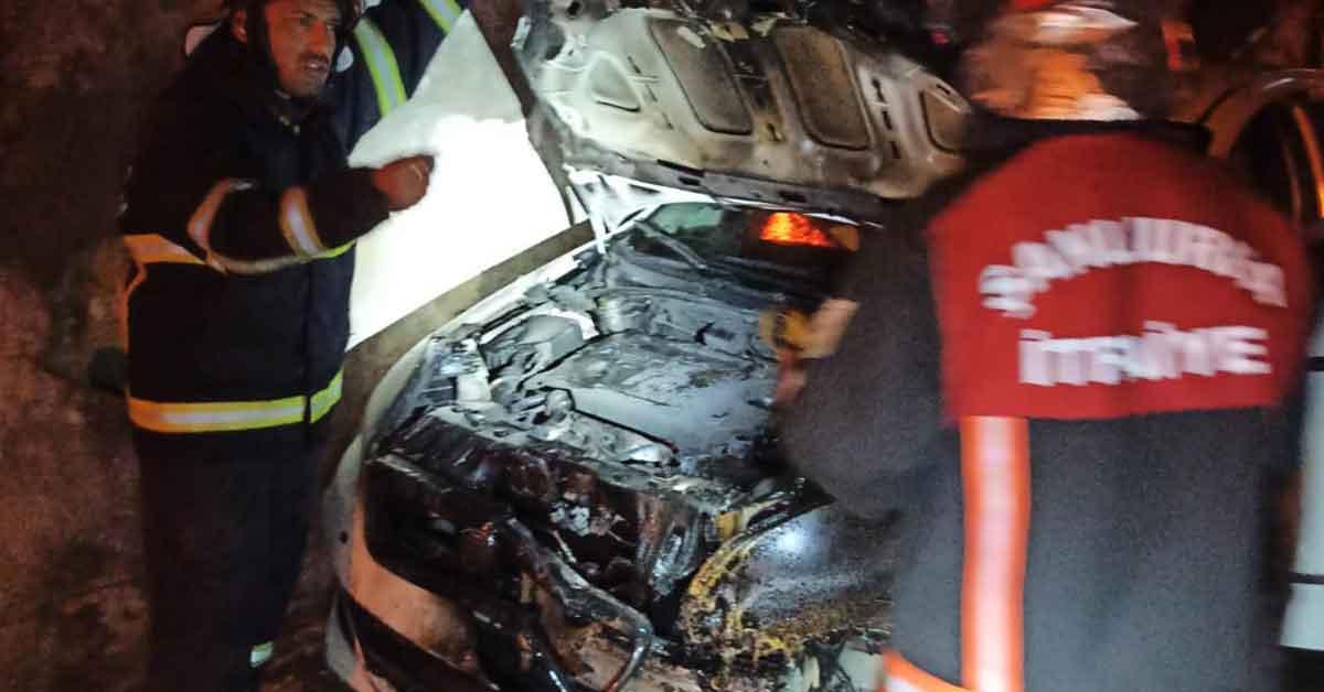 Urfa'da kundaklama şoku! Bir gecede 2 araç