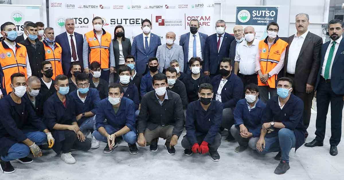 Urfa'da Bölgesel kalkınma yatırım Fuarı Açıldı