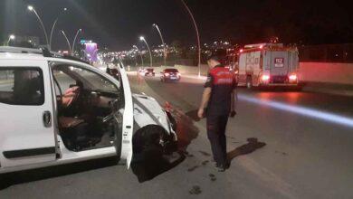 Photo of Şanlıurfa'da trafik kazası