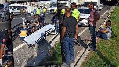 Photo of Urfa'da Otomobil motosiklete çarptı: 1 yaralı