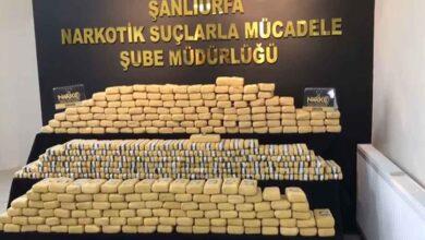 Photo of Şanlıurfa'da 270 Kilo Eroin Ele Geçirildi