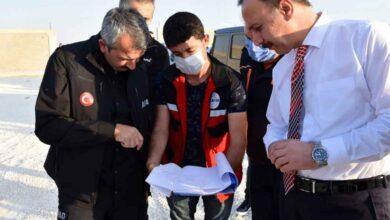 Photo of AFAD Başkanı Sezer, Barış Pınarı Bölgesinde