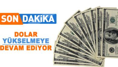 Photo of Dolar Yükselişi Devam Ediyor
