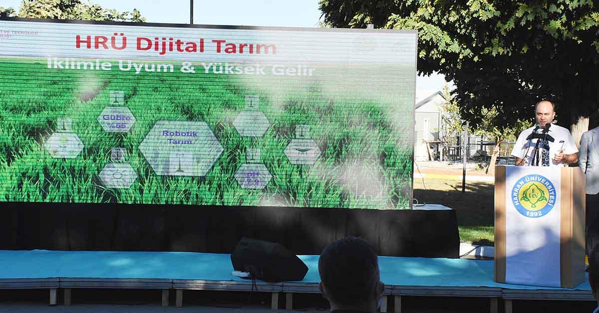HRÜ Çiftçiyi Rahatlatacak Projeyi Hayata Geçirdi
