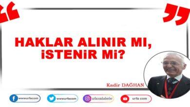 Photo of Haklar Alınır Mı, İstenir Mi?